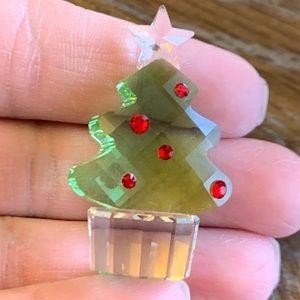 "Swarovski Figurine- ""Felix the Christmas Tree"""